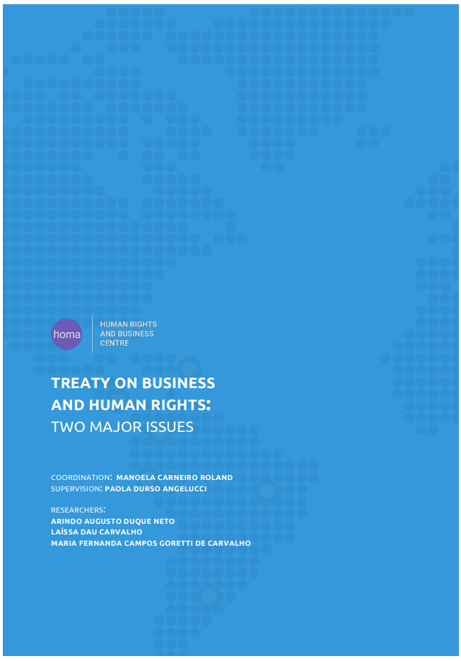 Treaty on Human Rights and Business: Two Major Issues