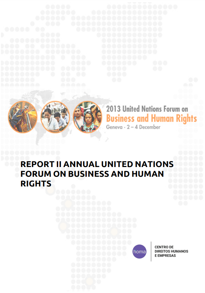 Report of the II Annual United Nations Forum on Business and Human Rights