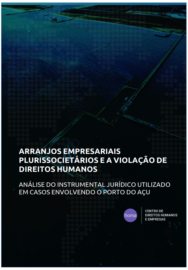 Plurissocietary Business Arrangements and Human Rights Violations - Analysis of Legal Instruments Used in Cases Involving the Port of Açu
